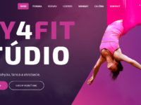Nový web Fly4fit Štúdia